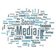 social media marketing Begriffswolke